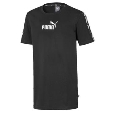 PUMA Boys Amplified T-Shirt - BLACK