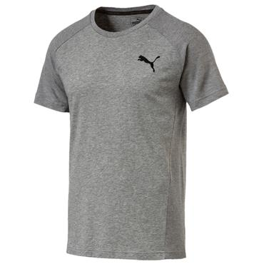 MENS EVOSTRIPE MOVE TSHIRT - GREY