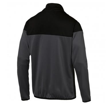 PUMA Mens FTBLPLAY Half Zip Top - Black