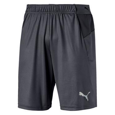 PUMA Mens FTBINXY Training Shorts - Grey