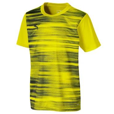 PUMA Boys Graphic Core T-Shirt - Yellow