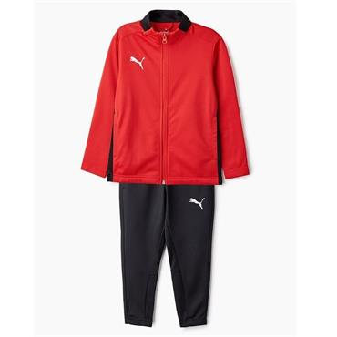 PUMA Boys Football Tracksuit - Red