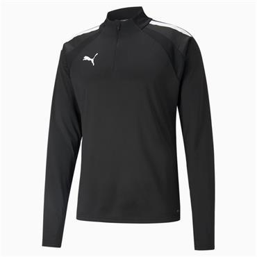 Puma Mens Liga Training HZ Top - BLACK