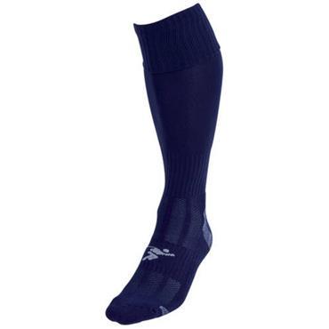 Precision Plain Pro Football Socks - Navy