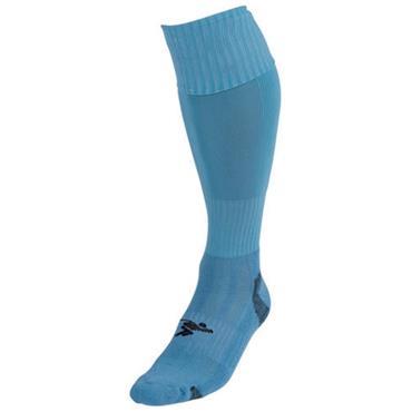 PRECISION PLAIN PRO FOOTBALL SOCKS - SKY