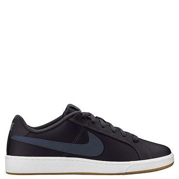 NIKE MENS COURT ROYALE TRAINERS - GREY