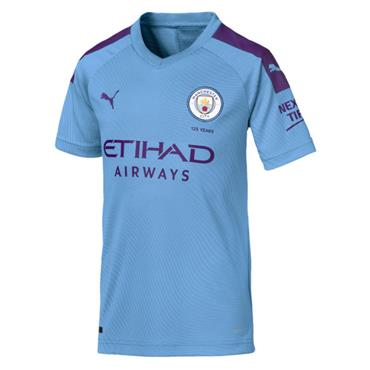 PUMA Kids Man City Home Jersey 2019/20 - Blue