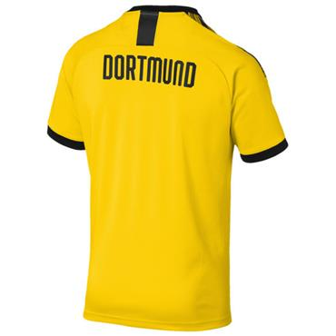 PUMA Mens Borussia Dortmund Home Jersey 2019/20 - Yellow