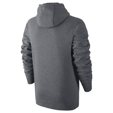 Nike Mens Sportwear Club Fleece Hoodie - Grey