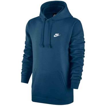 Nike Mens Sportswear Fleece Hoodie - Teal