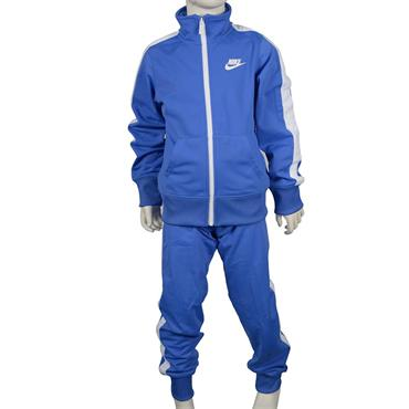 KIDS SPORTSWEAR WARM UP TRACKSUIT - BLUE