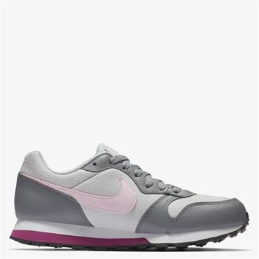 NIKE WOMENS MD RUNNERS GS - GREY/PINK