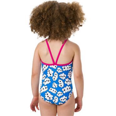 Speedo Kids Bow 1 Piece Swimsuit - Pink/Blue