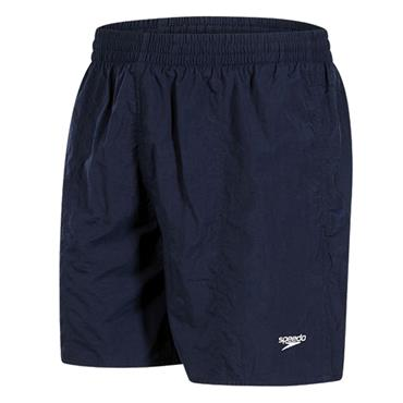 "Speedo Mens Solid Leis 16"" Shorts - Navy"