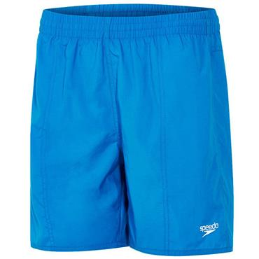 "Speedo Mens Solid Leis 16"" Shorts - Blue"