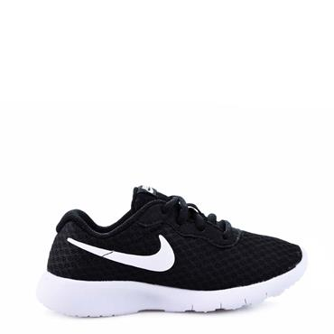 NIKE BOYS TANJUN TRAINER - BLACK/WHITE