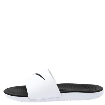 Nike Kids Kawa Sliders - White