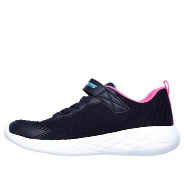Skechers Girls Go Run 600 Trainers - Navy
