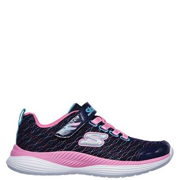 Skechers Girls Move N'Groove Sparkle Spinner Runners - Navy