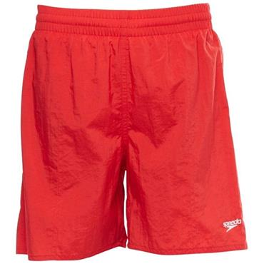 "Speedo Boys Leisure 15"" Swimshorts - Red"