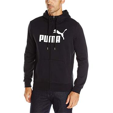MENS ESSENTIALS NO.1 HOODIE - BLACK