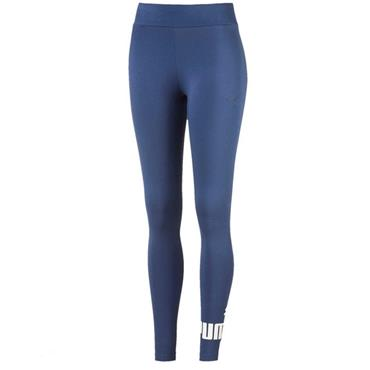 PUMA ESSENTIAL NO.1 WOMENS LEGGINGS - BLUE