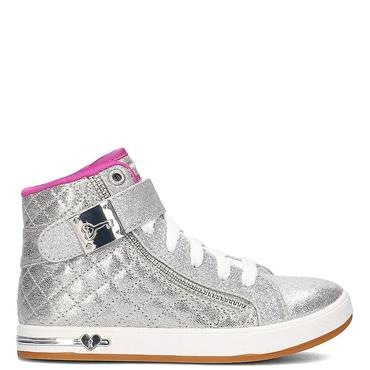 GIRLS SHOUTOUTS QUILTED CRUSH SHOE - SILVER