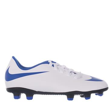 JR BRAVATA II FG FOOTBALL BOOTS - WHITE/BLUE