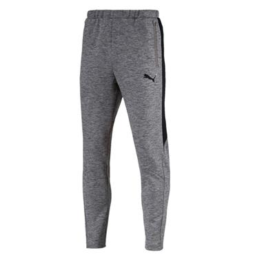 PUMA MENS EVOSTRIPE PANTS - GREY
