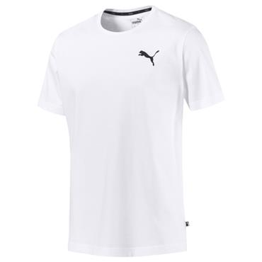 PUMA MENS ESSENTIAL TSHIRT - WHITE