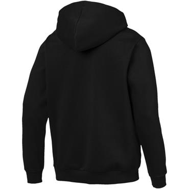 PUMA Mens Essnetials Full Zip Hoodie - Black/White