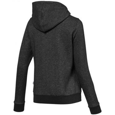 PUMA WOMENS ESSENTIAL LOGO HOODY - GREY