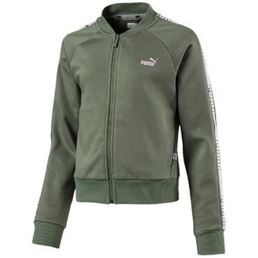 KIDS TAPE FULL ZIP JACKET - GREEN