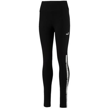 GIRLS TAPE LEGGINGS - BLACK