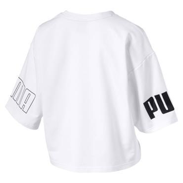 PUMA Womens T-Shirt - White
