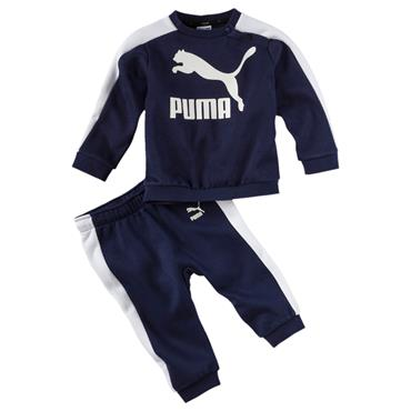 BABY CREW JOGGER TRACKSUIT - NAVY