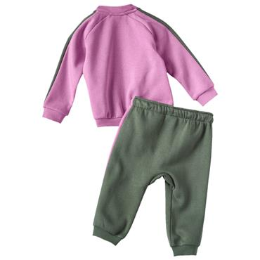BABY FULL ZIP JOGGER TRAKSUIT - PURPLE
