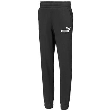 PUMA Kids Essentials Logo Bottoms - BLACK