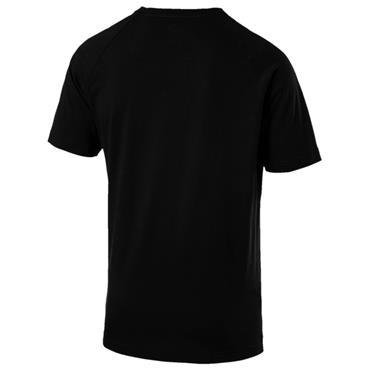 PUMA TAPE TSHIRT BLACK - BLACK