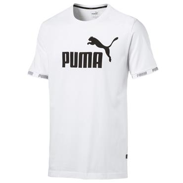PUMA Mens Amplified T-Shirt - White