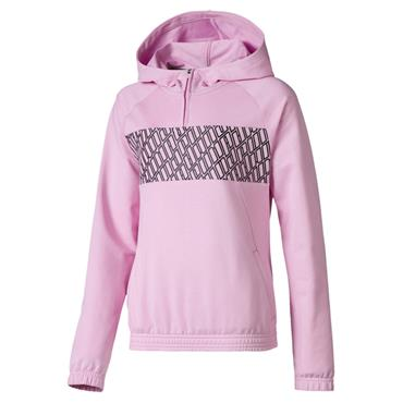 PUMA Girls A.C.E Hoody - Pink