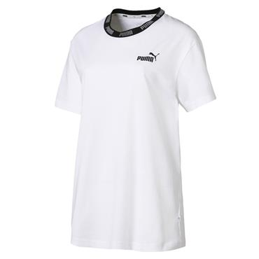 PUMA AMPLIFIED BOYFRIEND TEE - WHITE