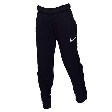 Nike Boys Dri-Fit Fleece Training Pants - BLACK