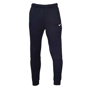 NIKE MENS DRI-FIT FLEECE TRAINING PANTS - BLACK/WHITE