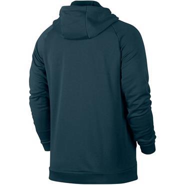 Nike Mens Dry Fleece Full Zip Hoodie - Green
