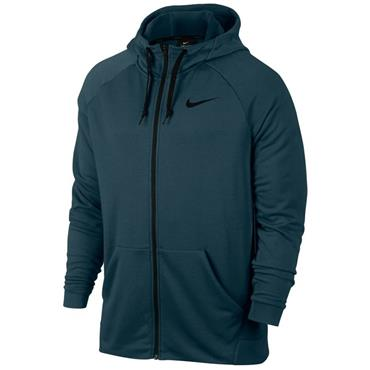 Nike Mens Dry Fleece Full Zip Hoodie - Green