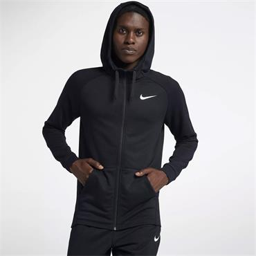 Nike Mens Dri-Fit Full Zip Hoodie - BLACK