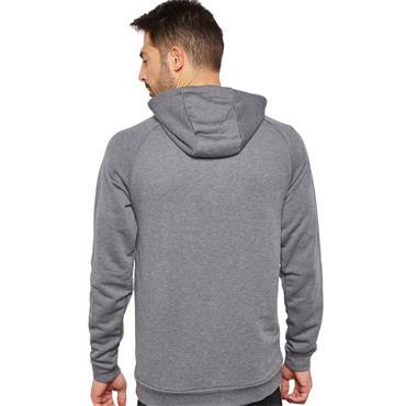 Nike Mens Dry Training Swoosh Hoodie - Grey