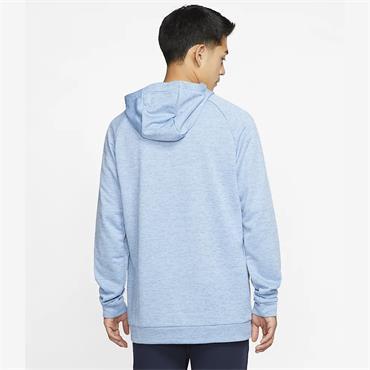 Nike Mens Dri-Fit Hoodie - Blue