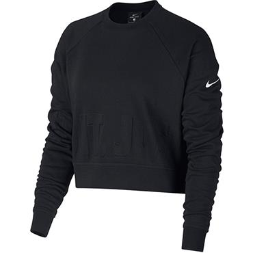 Nike Womens Just Do It Sweater - Black